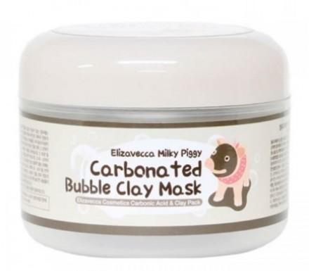 Маска пузырьковая глиняная ELIZAVECCA Milky Piggy Carbonated Bubble Clay Mask: фото