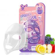 Отзывы Маска тканевая с фруктами ELIZAVECCA Fruits deep power ringer mask pack 23 мл