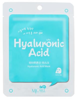 Маска тканевая с гиалуроновой кислотой Mijin MJ on Hyaluronic Acid mask pack 22гр: фото