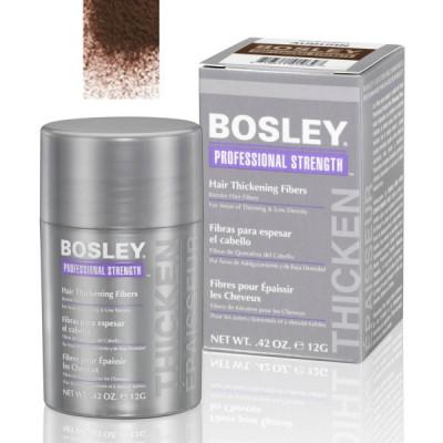 Кератиновые волокна BOSLEY Hair Thickening Fibers средне-коричневый 12г: фото