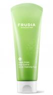 Скраб-пенка для умывания с виноградом Frudia Green grape pore control scrub cleansing foam 145мл: фото